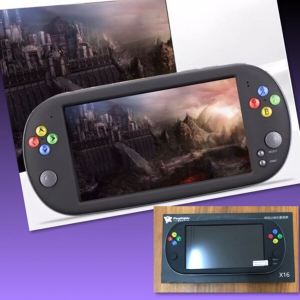 Used X16 HD HANDHELD GAME CONSOLE( POWKIDDY) in Dubai, UAE