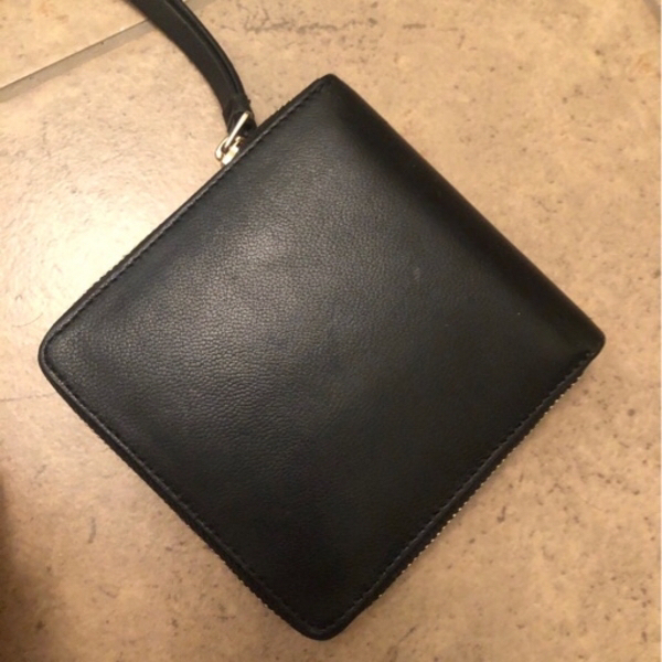 Used Black leather wallet in Dubai, UAE