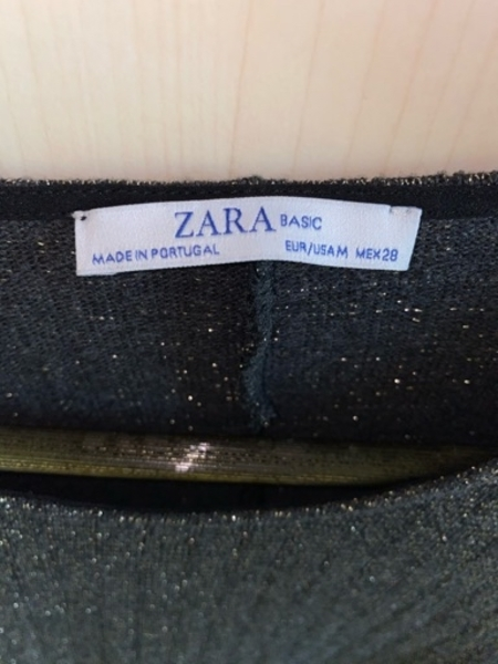 Used Zara Shimmery Top in Dubai, UAE