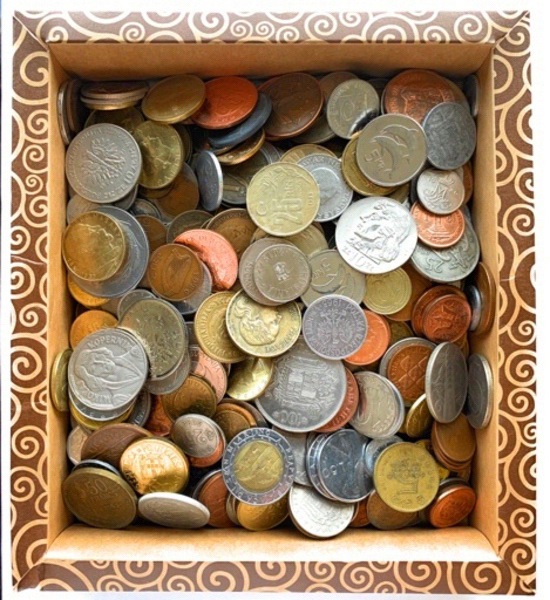Used 1/2kg of mix collectible coins in Dubai, UAE