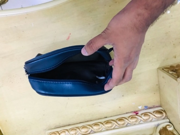 Used Mont Blanc hand pouch in Dubai, UAE