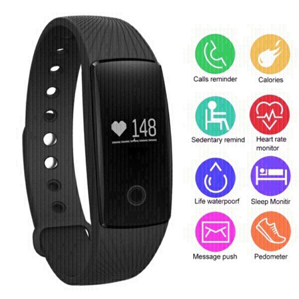 Used smart band with heart rate monitor in Dubai, UAE