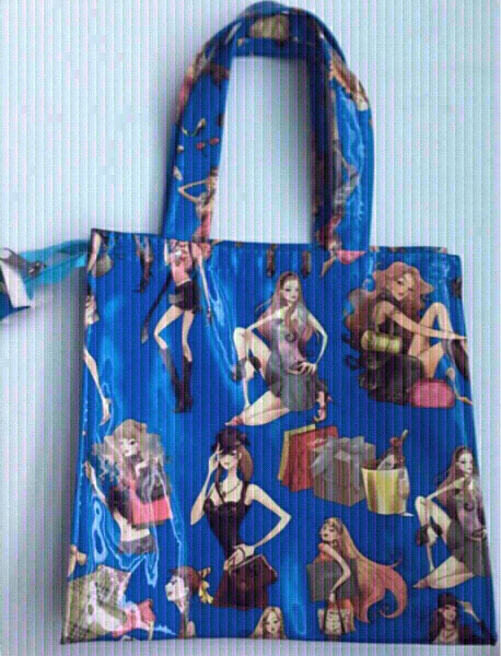 Used Blue cartoon bag for small girls NEW in Dubai, UAE