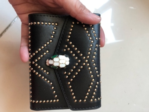 Used Bvlagri black wallet in Dubai, UAE