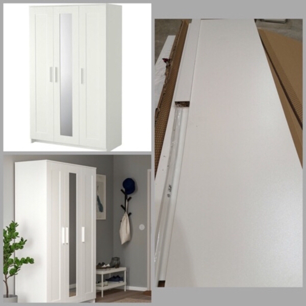 Used IKEA BRIMNES( WARDROBE WITH 3 DOORS) in Dubai, UAE