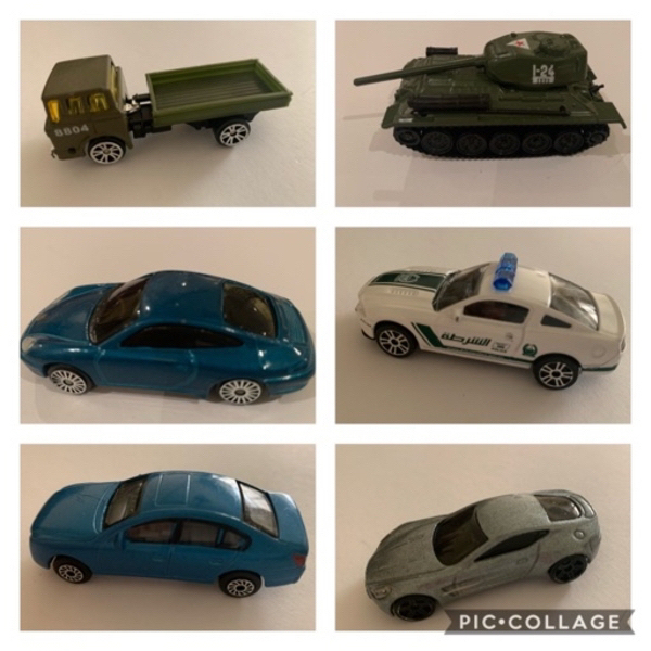 Used Metal Small Toy Cars1 (30 nos) Bundle in Dubai, UAE