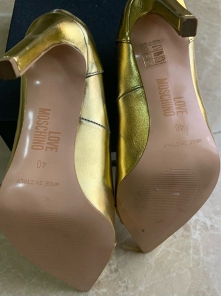 Used Love moschino heels in Dubai, UAE