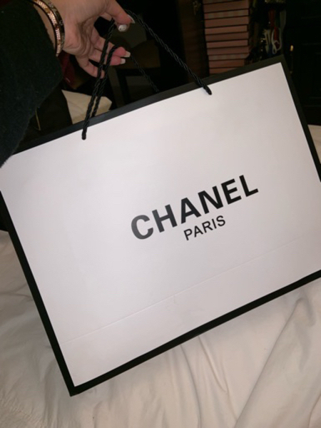 Used Chanel Chevron Red Top Handle AED2800 in Dubai, UAE