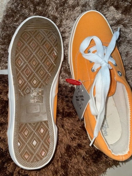 Used Orange Sneakers in Dubai, UAE