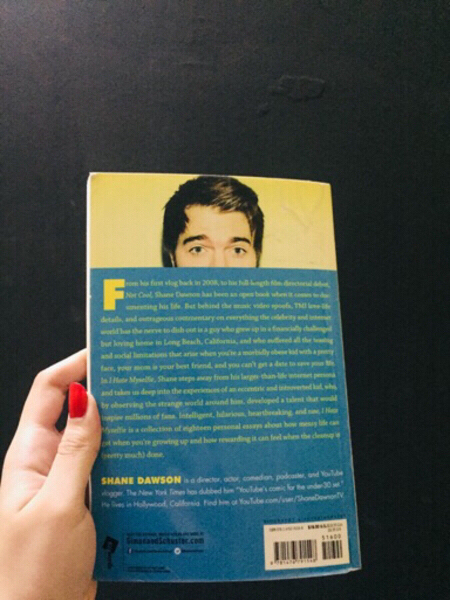 "Used Shane Dawson Book: ""I Hate Myselfie"" in Dubai, UAE"