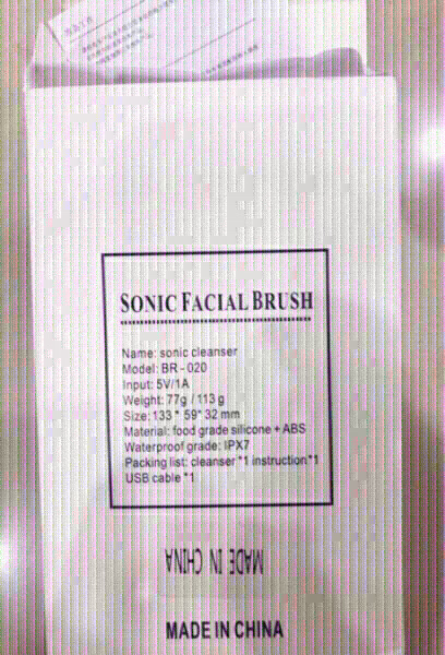 Used Sonic Facial Cleansing Scrubber ♥️ in Dubai, UAE