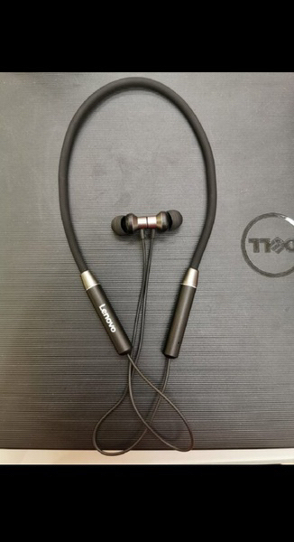 Used LENOVO ORIGINAL NECK BAND EARPHONES NOW in Dubai, UAE