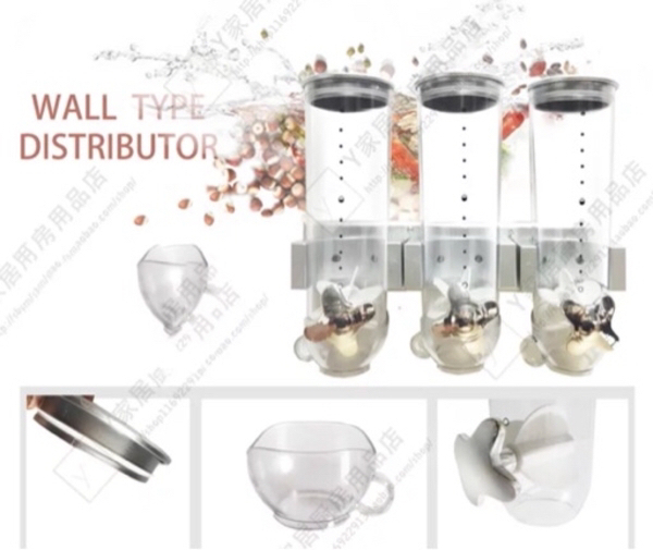 Used CEREAL DISPENSER 3 CANISTERS in Dubai, UAE