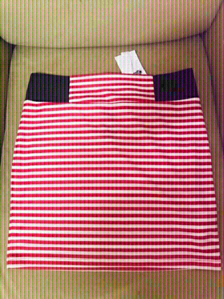 Used Stradivarius Stripe Skirt 💙 in Dubai, UAE