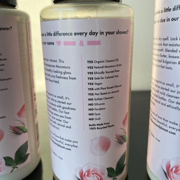Used Love beauty and planet 5 products in Dubai, UAE