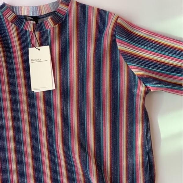 Used Bershka multicolored top in Dubai, UAE