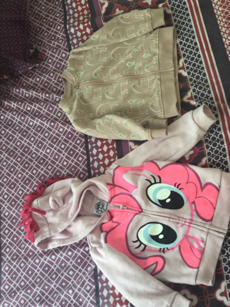 Used My little pony and M&s jacket in Dubai, UAE