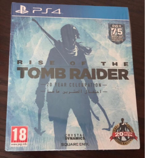 Used Rise of The Tomb Raider 20 yr on PS4 in Dubai, UAE