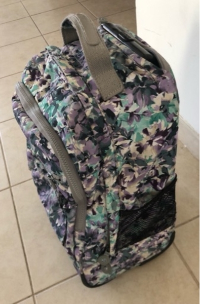 Used Kipling purply Roller backpack bag in Dubai, UAE