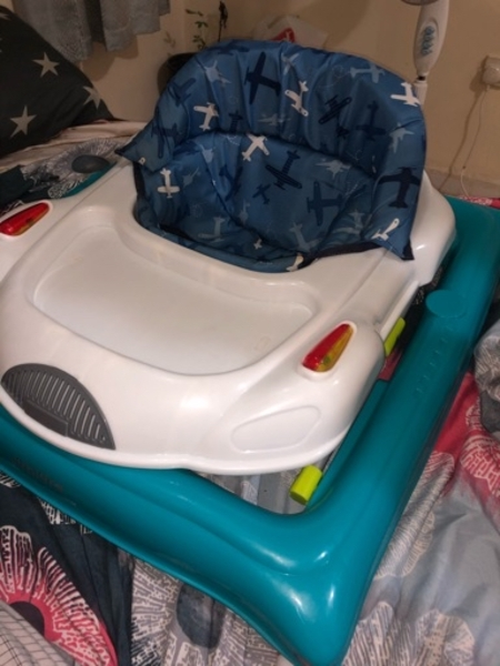 Used Baby walkers - juniors brand only 60 aed in Dubai, UAE