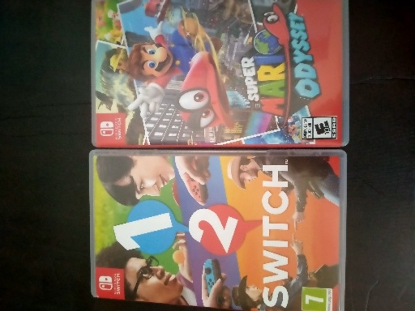 Used 2 NEW GAMES FOR THE NINTENDO SWITCH in Dubai, UAE