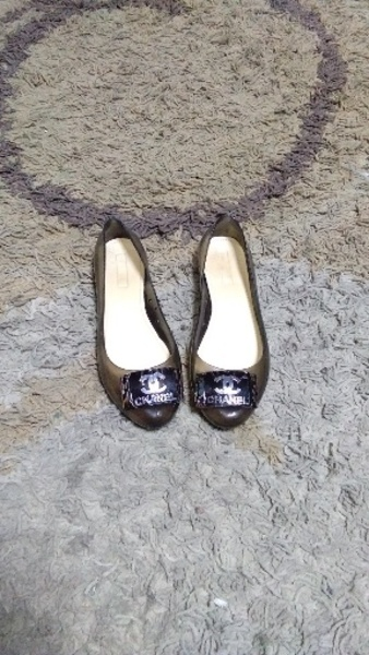 Used Chanel jelly shoes 38 new in Dubai, UAE