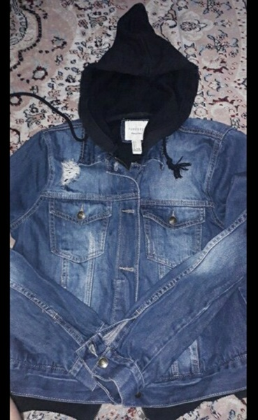 Used Forever 21 hoodie jeans size us L women in Dubai, UAE