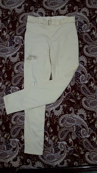 Used Jeans for girls 10-11 years...3 pieces in Dubai, UAE