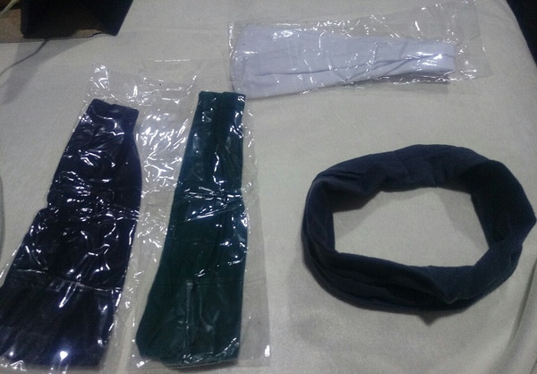 Used Head bands four pieces brand new in Dubai, UAE