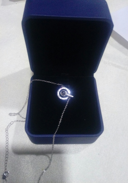 Used Necklace silver brand new in Dubai, UAE