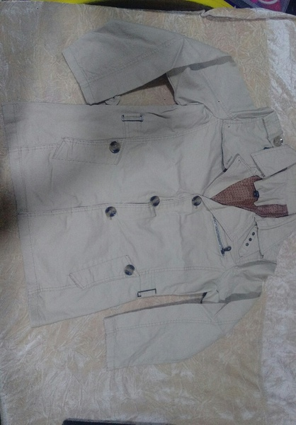 Used Men's jacket XL nice fitting&material ne in Dubai, UAE
