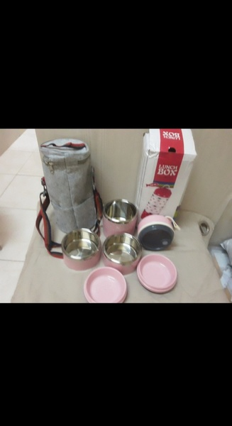 Used Tiers Portable Thermal Lunch Box in Dubai, UAE