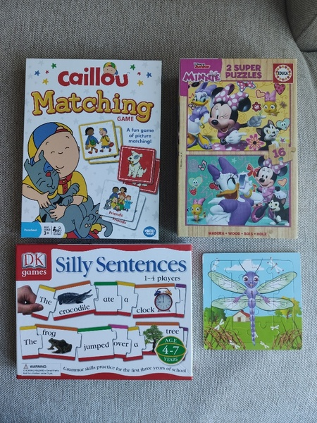 Used Bundle of Games and Puzzles 3yrs+ in Dubai, UAE