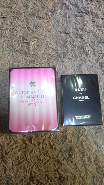 Used Bleu De Chanel & Victoria's Secret 2pcs in Dubai, UAE