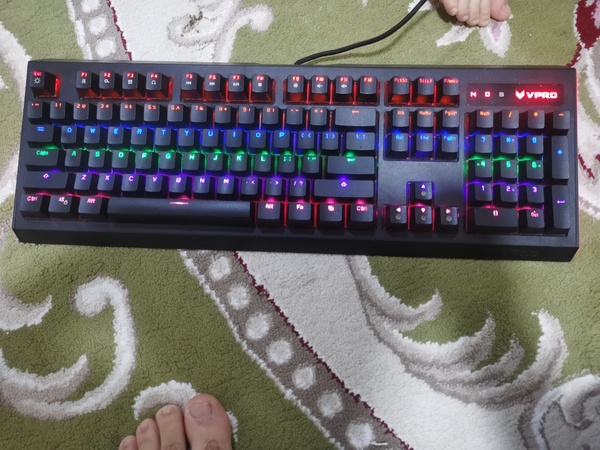 Used Rapoo vpro 500 new!!! Gaming Keyboard in Dubai, UAE