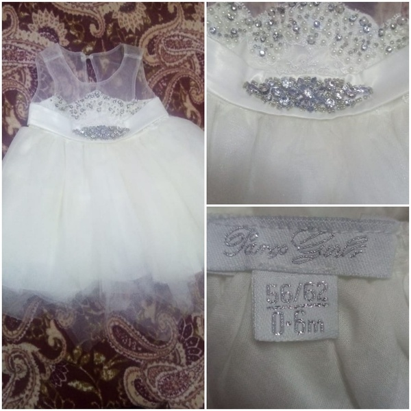 Used New born baby frock 2 pieces in Dubai, UAE