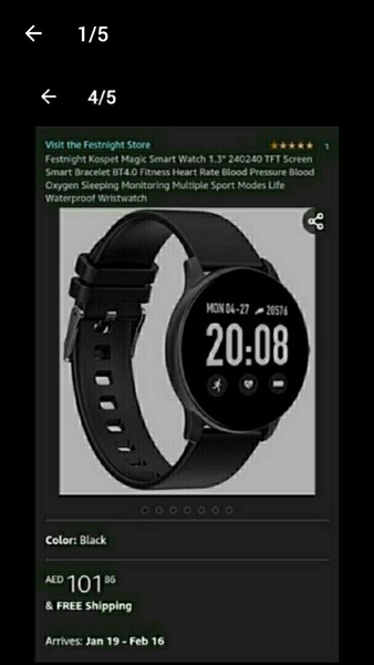 Used Ultra thin smart watch multifunction new in Dubai, UAE
