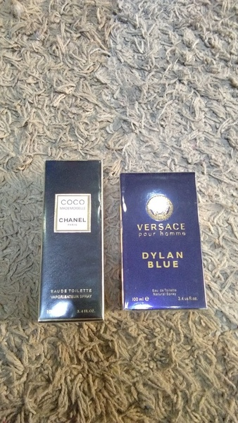 Used Versace & Coco Chanel 2pcs set new in Dubai, UAE