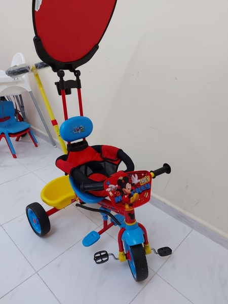 Used 3 in 1Mickey MousSmart Trike Cycle in Dubai, UAE