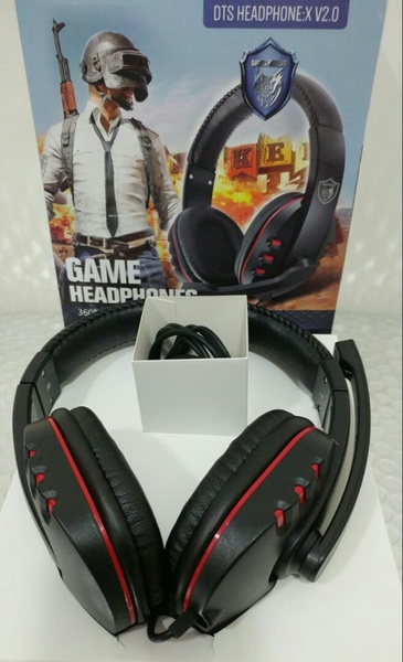 Used GAMEING HEADPHONES🎧 360° Vibrtion Sound in Dubai, UAE
