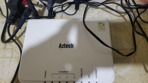 Used Aztec wifi router. in Dubai, UAE