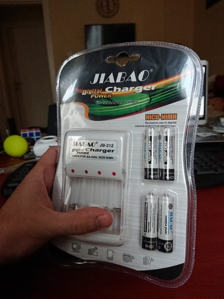 Used BATTERY WITH CHARGER ELE1 in Dubai, UAE