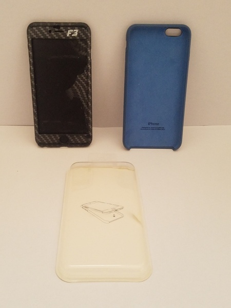 Used Iphone 6s plus 2 pcs cover in Dubai, UAE