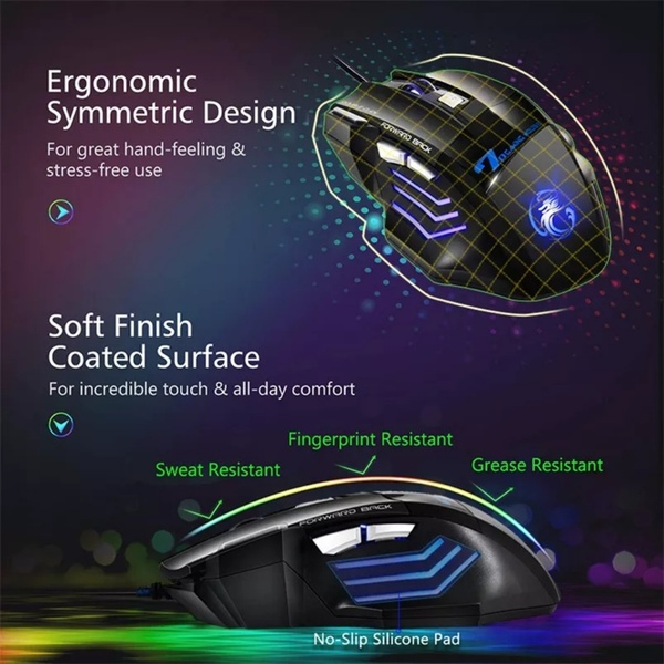 Used Brand new gaming mouse imice brand in Dubai, UAE