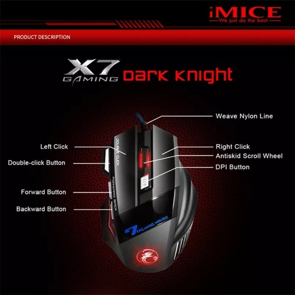 Used I mice brand new gaming mouse in Dubai, UAE