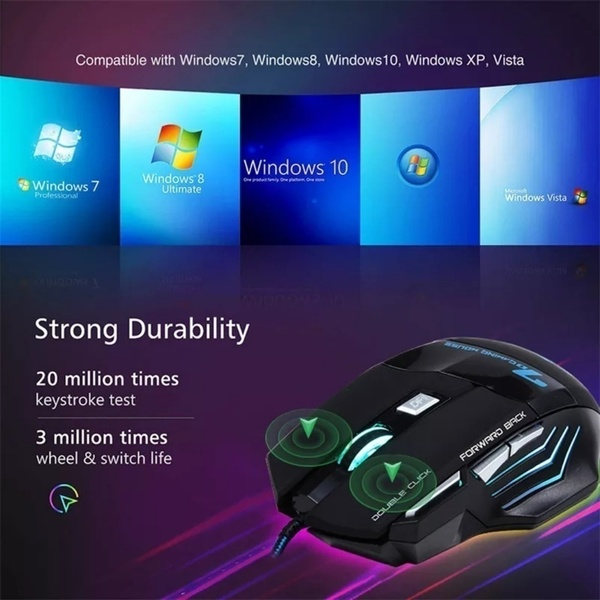 Used 7 bottons new professional gaming mouse in Dubai, UAE