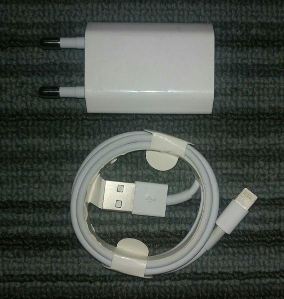 Used IPhone original charger+lightning cable in Dubai, UAE