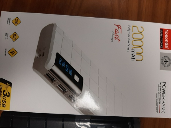 Used Achida power bank 20000(fast charger) in Dubai, UAE