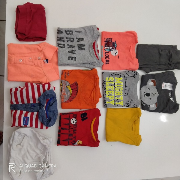 Used Bundle of clothes/shoes 1-2 yrs in Dubai, UAE