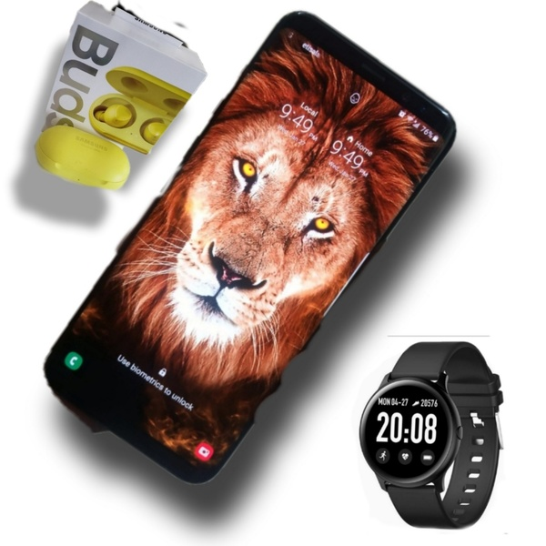 Used Samsung S8+ Plus with Buds+s Watch in Dubai, UAE